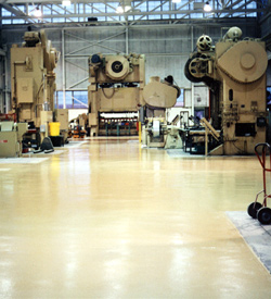 Epoxy Floors: Resurfacers/LDR Slurry Systems